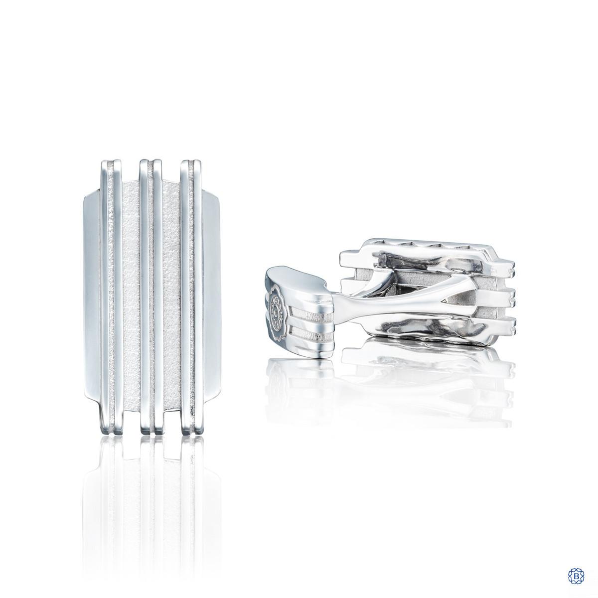 Tacori Monterey .925 Silver Cufflinks
