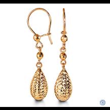Bella 10kt Yellow Gold Earring