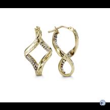 Bella 10kt Two-Tone Earrings