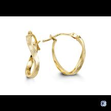 Bella 10kt Yellow Gold Hoop Earrings