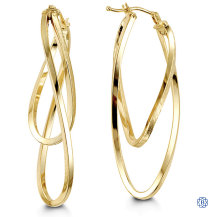 Bella 10kt Yellow Gold Earrings