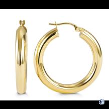 Bella Classics 10kt Gold Hoops