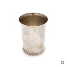 sterling silver Canadian mug