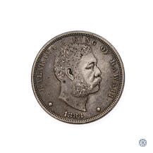 sterling silver Hawaiian dollar