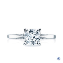 Platinum 1.03ct Diamond Simply Tacori Engagement Ring