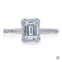 Tacori Dantela 18kt White Gold 1.00ct Lab Grown Diamond Engagement Ring