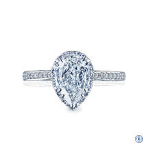 18kt White Gold 0.75ct Diamond Dantela Engagement Ring
