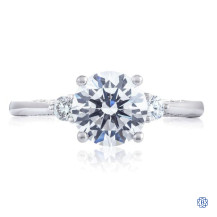 18kt White Gold 1.00ct Diamond Simply Tacori Engagement Ring