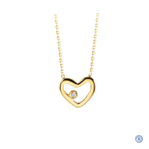 Bella Precious 10kt Heart Necklace with Diamond