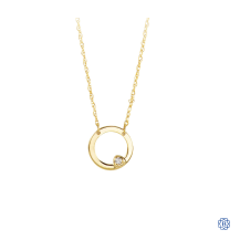 Bella Precious 10kt Yellow Gold Necklace with Diamond
