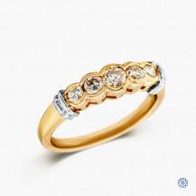 14kt Yellow Gold 0.50ct Diamond Wedding Band