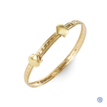 Baby Bella 10kt Yellow Gold Bangle