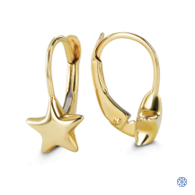 Baby Bella 10kt Yellow Gold Earrings