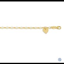 Baby Bella 10kt Yellow Gold Bracelet