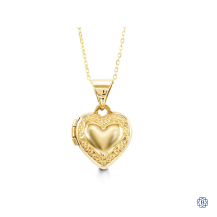 Baby Bella 10kt Gold Locket with chain