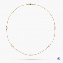 10k Yellow Gold and Pearl Necklace