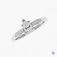 Simply Tacori 0.58ct Diamond Engagement Ring