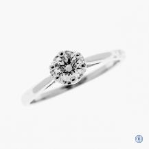 Tacori 18kt white gold 0.35ct Diamond Engagement Ring