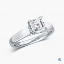 18k White Gold 1.00ct Lab-Grown Diamond Engagement Ring