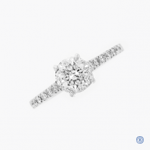 platinum 1.50ct diamond engagement ring