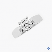 platinum 1.01ct diamond solitaire engagement ring