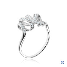 The Mavis Ring: 10kt white gold ring