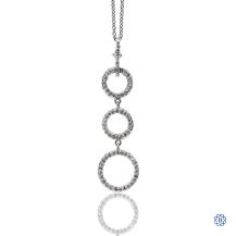 18kt White Gold Roberto Coin Diamond Necklace