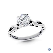 Tacori Platinum Round 1.22ct Diamond Engagement Ring