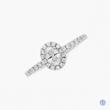 Noam Carver 14kt white gold 0.25ct diamond engagement ring