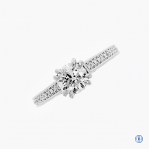 Scott Kay 19k white gold 1.01ct diamond ring