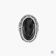 Scott Kay black onyx silver ring