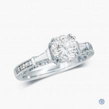 18kt White Gold 1.14ct Diamond Engagement Ring
