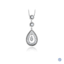Gabriel & Co. 14kt White Gold Diamond Necklace