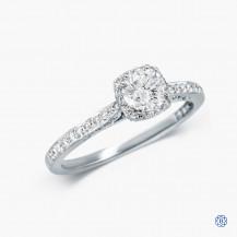 Tacori 18kt White Gold 0.51ct Diamond Dantela Engagement Ring