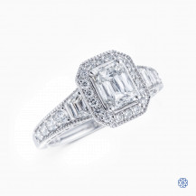 Christopher Designs Crisscut Diamond Engagement Ring