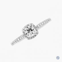 Tacori Platinum Dantela 0.47ct Diamond Engagement Ring