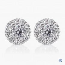 Christopher Designs Crisscut Diamond Earrings