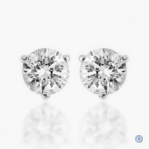 14kt White Gold 0.82ct Diamond Earrings