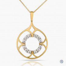 Hearts on Fire 18kt Yellow Gold Diamond Necklace