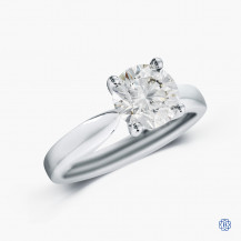 Hearts on Fire 18k white gold 1.53ct diamond engagement ring