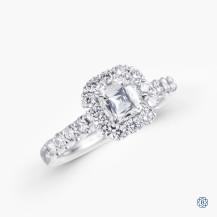 Christopher Designs 0.51ct Crisscut Diamond Engagement Ring