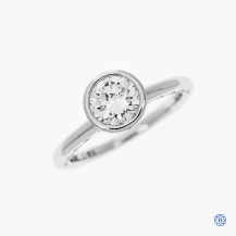 Tacori Starlit 18kt White Gold 1.00ct Diamond Engagement Ring