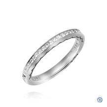 Tacori Sculpted Crescent Diamond Wedding Band