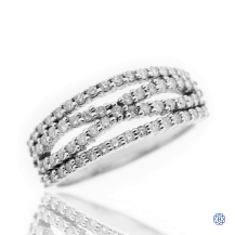 14kt White Gold 0.65ct Diamond Ring