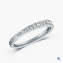 18kt white gold 0.26ct Diamond Wedding Band