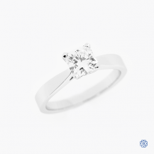 Hearts on Fire 18k white gold 0.83ct diamond engagement ring
