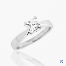 Hearts on Fire 18k white gold 0.98ct diamond engagement ring