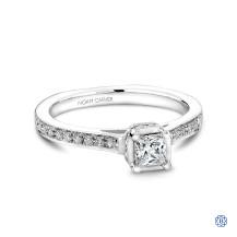 Studio 14kt White Gold 0.31ct Diamond Engagement Ring