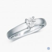 Birks Platinum 0.31ct Diamond Solitaire Engagement Ring