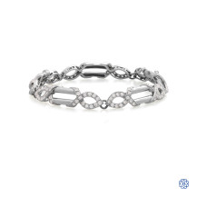 Structural Brilliance Diamond Bracelet
